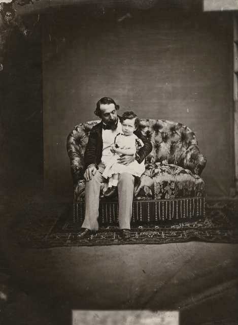 Pierre-Louis Pierson, 'Emperor Napoleon III and His Son, the Prince Imperial Napoleon Eugene', 1859-61/1930c, Contemporary Works/Vintage Works