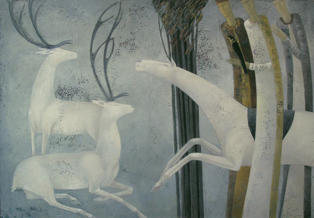 , 'Winter Hunt,' 2012, Andakulova Gallery