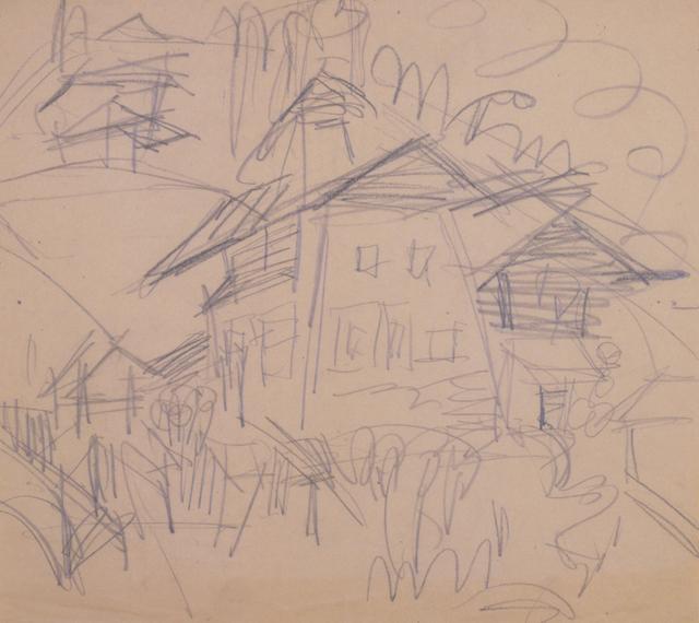 , 'Haus in Wiesen,' 1920, Henze & Ketterer