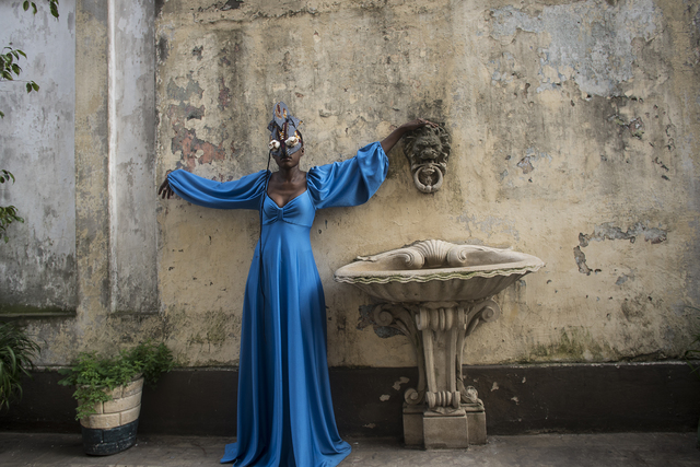 , 'Blue Like Black in Argentina,' 2018, CRUSHCURATORIAL