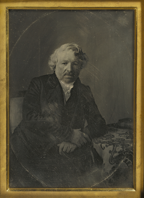 , 'Portrait of Louis-Jacques-Mandé Daguerre,' 1848, J. Paul Getty Museum