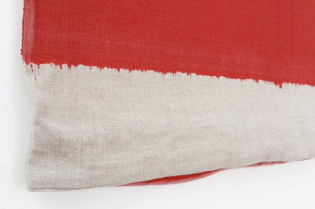 Analía Saban, 'Pressed Paint (Cadmium Red)', 2017, Gemini G.E.L.
