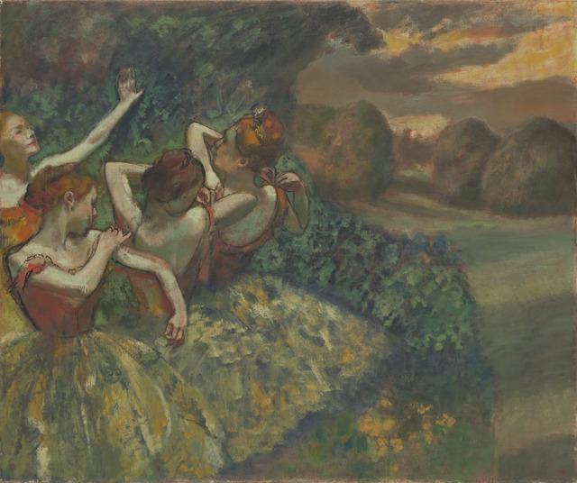 Edgar Degas, 'Four Dancers', ca. 1899, National Gallery of Art, Washington, D.C.