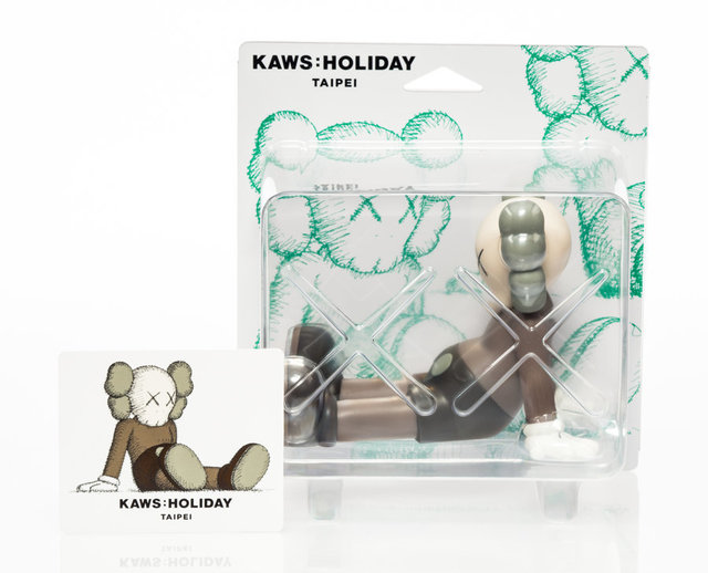 KAWS, 'Holiday: Taipei (Brown)', 2019, Other, Painted cast vinyl, Heritage Auctions