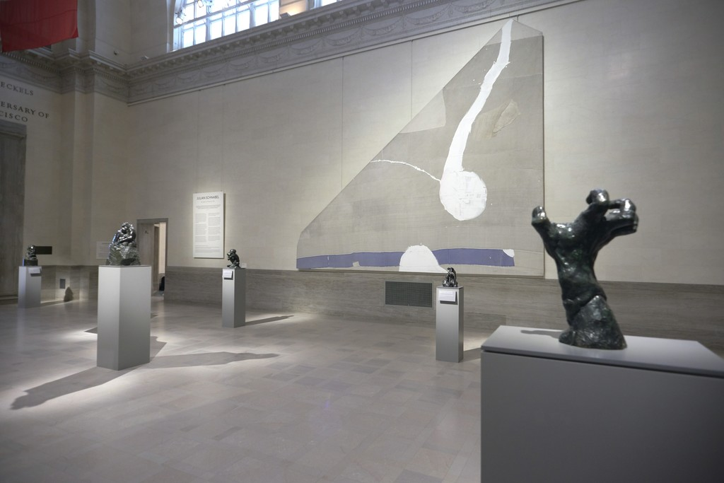 Installation view of 'Julian Schnabel: Symbols of Actual Life'