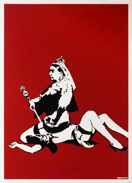Banksy, 'Queen Victoria - Unsigned', 2003, Hang-Up Gallery
