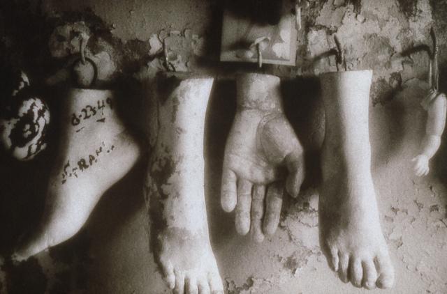 , 'St Roch., Feet and Hands,' 1997, Paraphé
