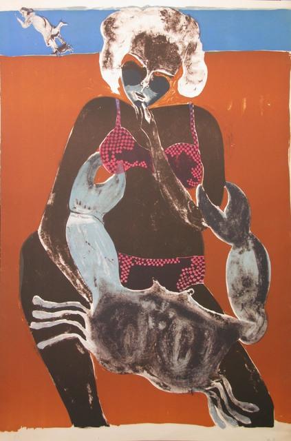 , 'Femme au crabe (Fond blanc),' , Galeria Oscar Roman