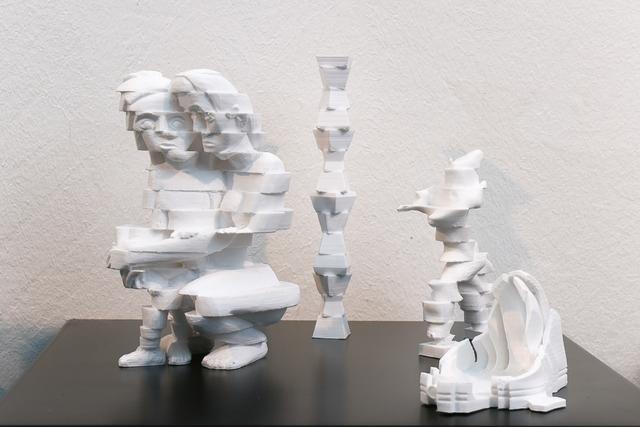 , 'Scanned Sculptures - Ensemble,' 2014, Artelier Contemporary
