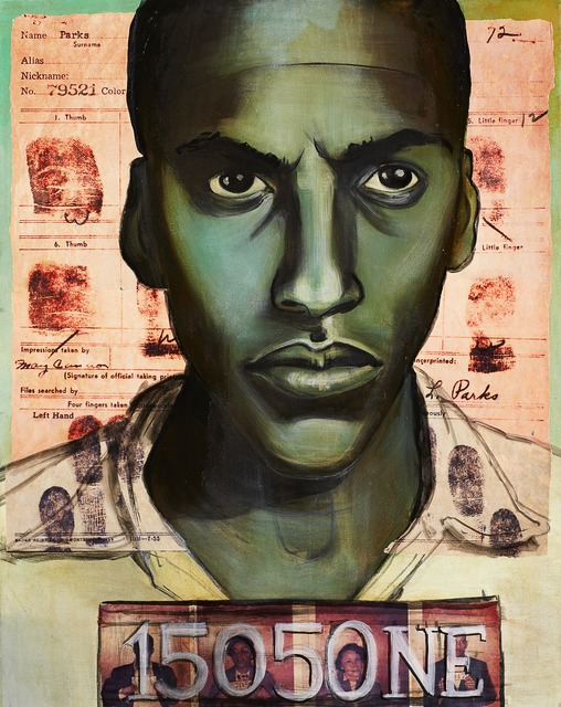 , 'Bayard Rustin, Conscientious Objector & Pivotal Inspirer of the 1956 Bus Boycotts in Montgomery AL ,' 2012, RJD Gallery