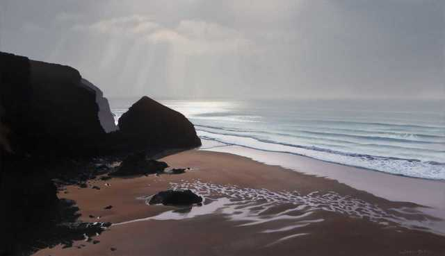 , 'Pudding Rock,' , Beside the Wave