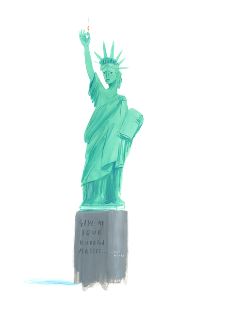 Oliver Jeffers, 'New Liberty ', 2018, Lazinc