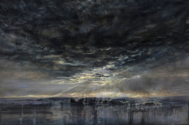 , 'Light on the Outer Hebrides,' 2017, Mall Galleries