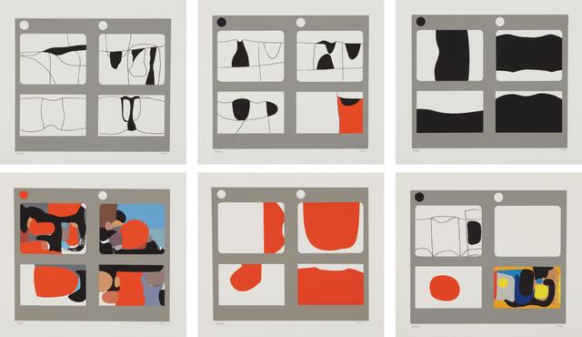Alberto Burri, 'Lettere', 1969, Phillips
