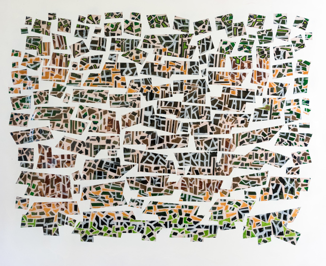 , 'Understanding in a car crash,' 2017, Wallspace