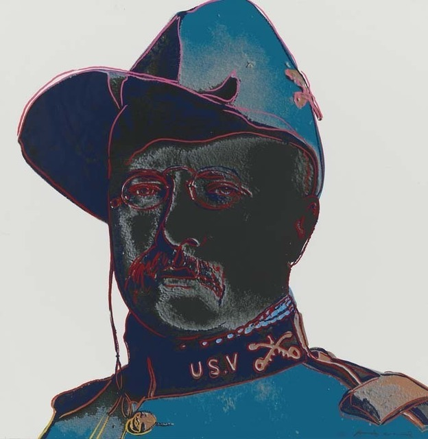 Andy Warhol, 'Teddy Roosevelt', 1986, Print, Screenprint on Lenox Museum Board, Contessa Gallery