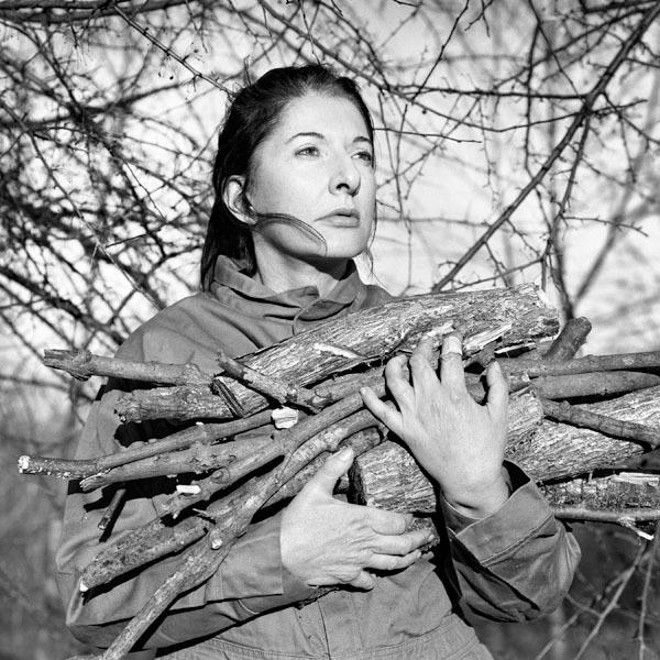 , 'Portrait with firewood,' 2009, Lia Rumma