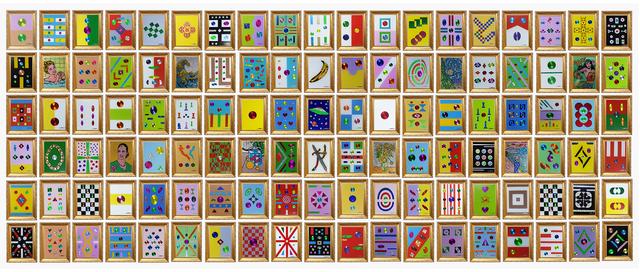 , 'Políptico,' 2019, Larenland Art Space