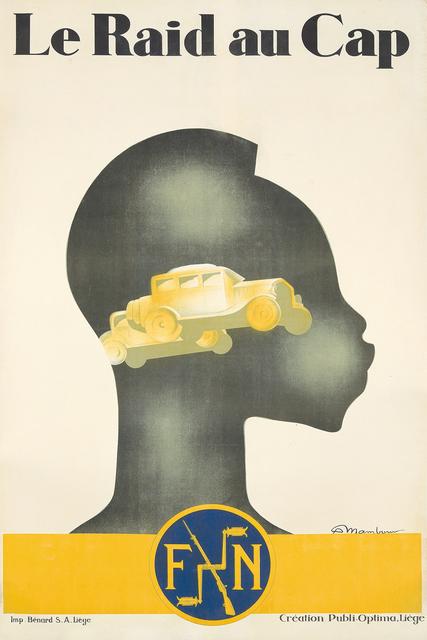 , 'Le Raid au Cap / FN.,' 1928, Rennert's Gallery