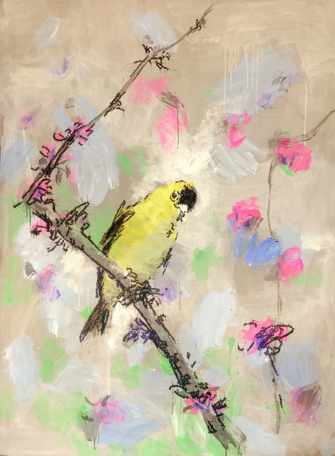 , 'Yellow Sparrow,' 2016, Longmen Art Projects
