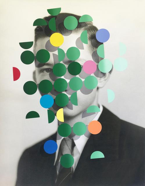 , 'Dapple (Green Man 1),' 2019, Flowers
