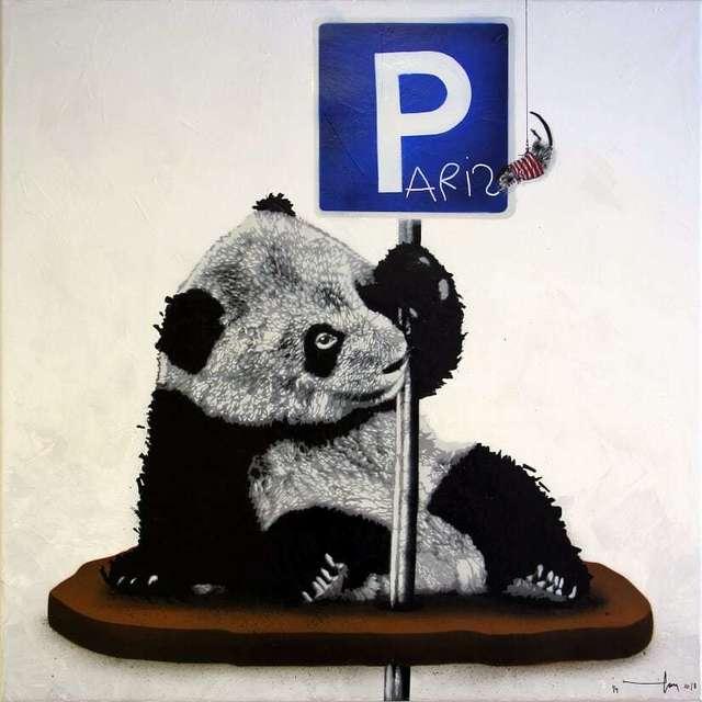, 'Parked Panda (Paris),' 2018, NextStreet Gallery