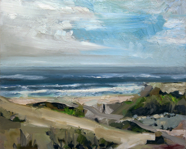 , 'Sand Dunes Above Beach,' , Wallace Galleries