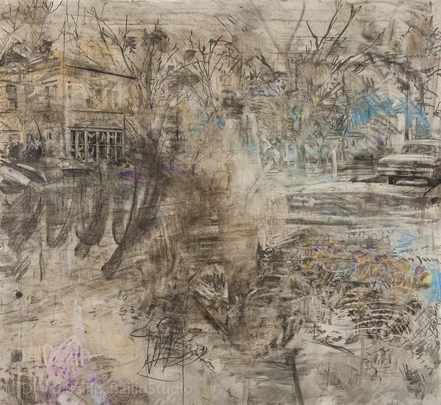 , 'Raking Leaves,' 2016, Koplin Del Rio