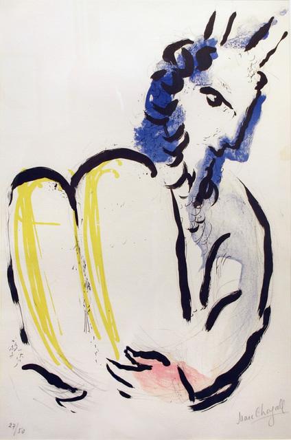 , 'Moise,' 1956, Galerie Raphael