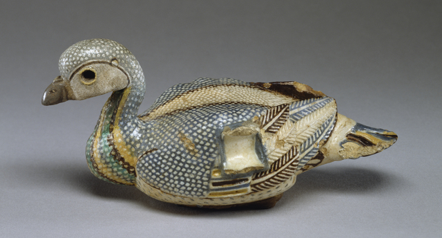 'Vase in the Shape of a Duck', 3rd-2nd century B.C., Walters Art Museum