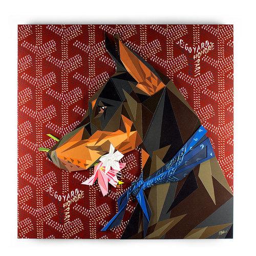Naturel, 'Loyalty', 2014, Mixed Media, Carved and painted wood, TAG ARTS