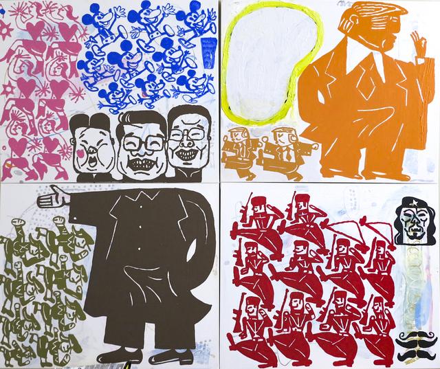 , 'Dick, Dick, Dictator,' 2017, Susan Eley Fine Art