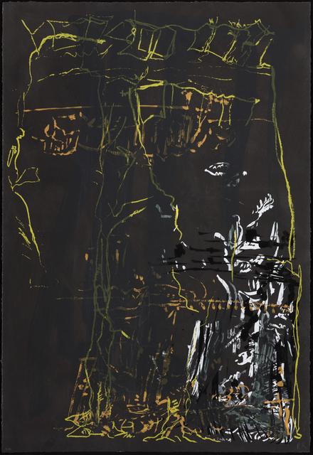 , 'Søndagstryk I,' 2015, Galleri Bo Bjerggaard