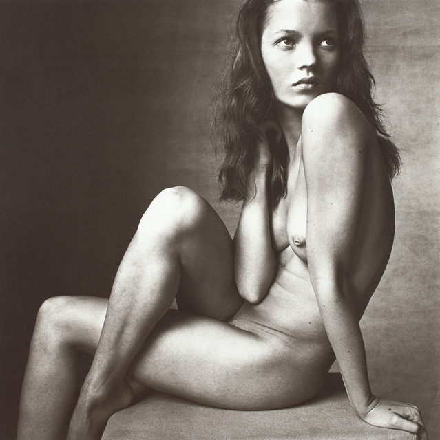 Irving Penn, 'Kate Moss (Hand on Neck), New York, April 25', 1996, Photography, Platinum palladium print., Phillips
