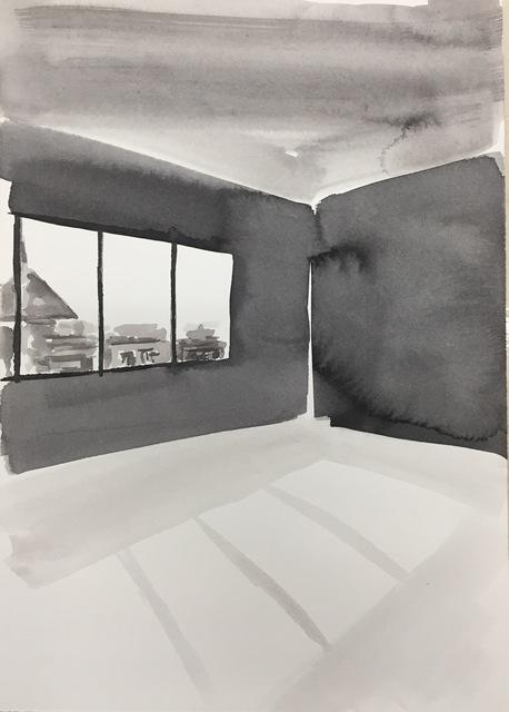 , 'Ink Rooms 5,' 2017, Galerie Huit