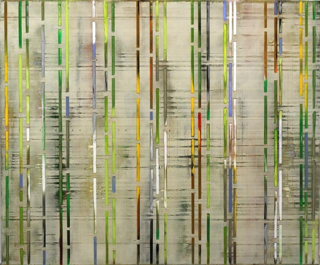 Petra Rös-Nickel, 'Green Stripes', 2016, Artspace Warehouse
