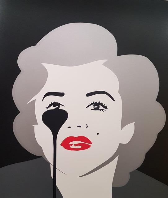 Pure Evil, 'Marilyn - Dirty Silver', 2015, Hidden