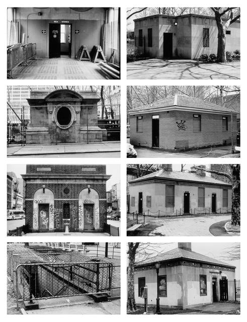 , 'Unearthing the public restrooms,' 1994, Bortolami