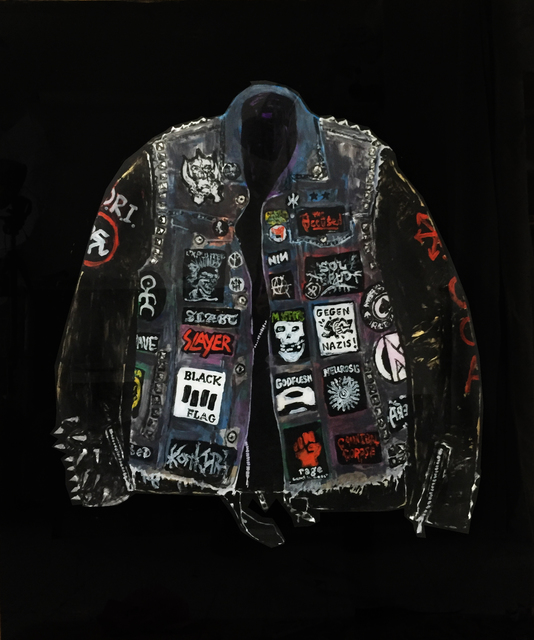 , 'Jacket with Patches,' 2018, V1 Gallery