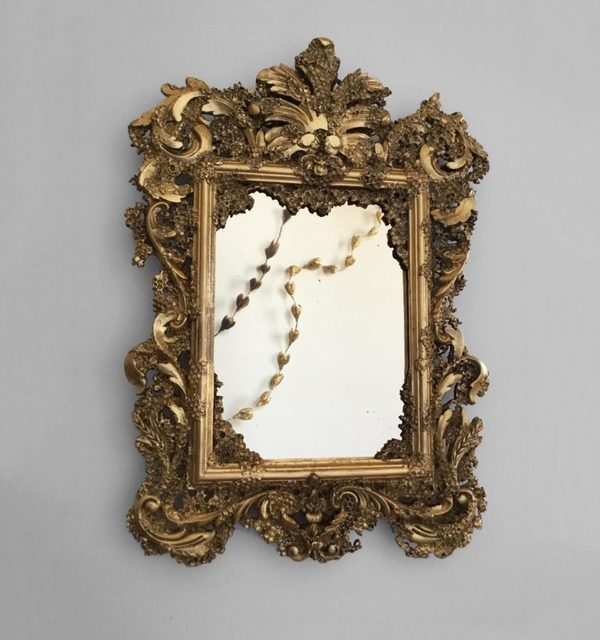 , 'Honeycomb Marriage Mirror,' 2018, Todd Merrill Studio