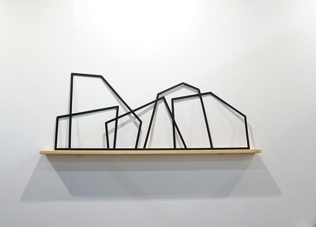 Javier Soria Vazquez, 'Desarme', 2017, Sculpture, Hierro y madera, LA ARTE