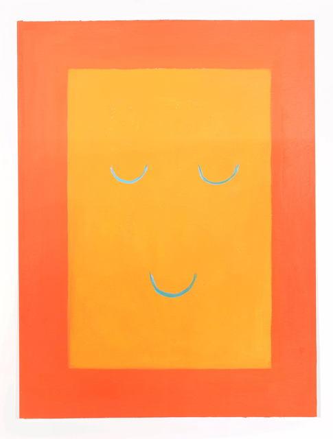 , 'Smile Set/Orange,' 2018, Galerie Britta von Rettberg