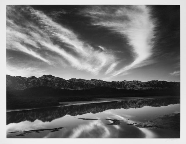, 'Evening Clouds and Pool, Owen's Valley,' ca. 1962, Photography West Gallery