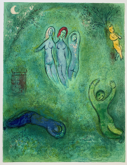 Marc Chagall, 'Daphnis' Dream and the Nymphs', 1961, Galerie Fetzer
