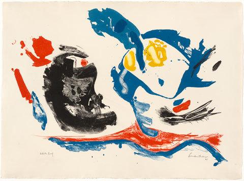 , 'First Stone,' 1961, Helen Frankenthaler Foundation