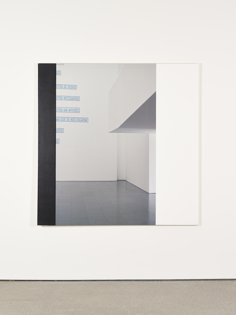 , 'MACBA Interior IV,' 2009, Galerie Greta Meert