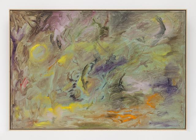 Joaquin Boz, 'Untitled', 2020, Painting, Oil on panel in artist's frame, Steve Turner
