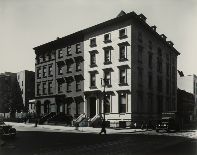 , 'Fifth Avenue Houses, No. 4, 6, 8, New York, 1936,' 1936, Tang Teaching Museum and Art Gallery