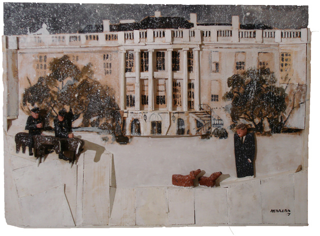, 'Snowy White House ,' , MAMAN Fine Art Gallery