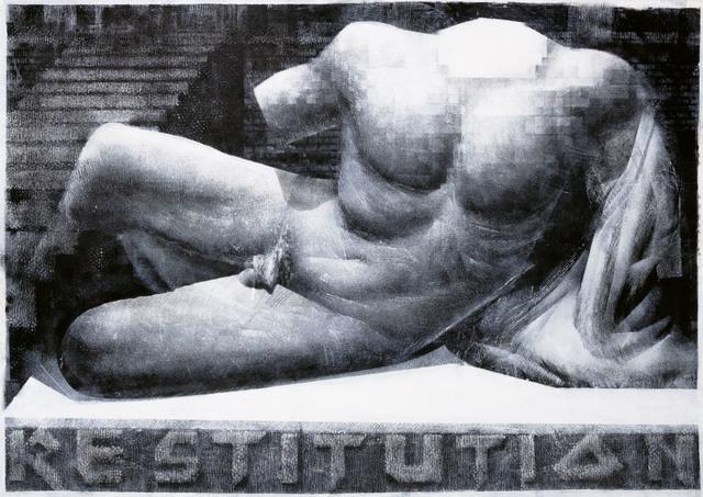 Julius Hofmann, 'Male Torso (Restitution)', 2019, Galerie Kleindienst